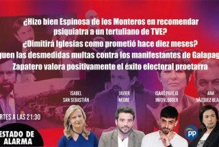 TERTULIA / Antonio Papell al psiquiatra, las multas a ciudadanos y la promesa 'fake' de Iglesias de dimitir