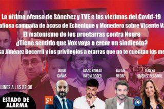TERTULIA / Por qué TVE y Pedro Sánchez han faltado el respeto a las víctimas de la pandemia al ignorar el funeral