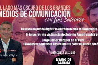 EL LADO OSCURO DE LOS MEDIOS / Los 'rojos y maricones' de 'Sálvame' chantajean a una famosa y Papell agradece su silla en TVE a Sánchez