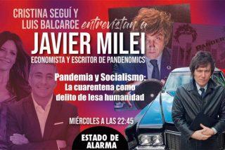Entrevista exclusiva al economista argentino Javier Milei, el enemigo público de la mafia K