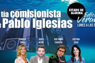 TERTULIA / ¿Quién es la tía comisionista y 'enchufada' de Pablo Iglesias?