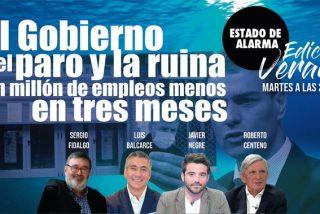 TERTULIA / La ruina y el paro que nos que va a traer el Gobierno de Pedro Sánchez