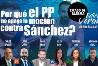 TERTULIA / ¿Por qué el PP no quiere apoyar la moción de censura de VOX contra Pedro Sánchez?