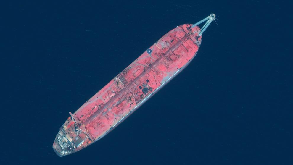 FSO Safer: El petrolero 'fantasma' que amenaza conuna catástrofe ambientalal Mar Rojo