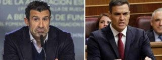 """Pedro Sánchez anuncia su medida económica estrella y Figo le arruina la propaganda: """"Más paro y más pobreza"""""""