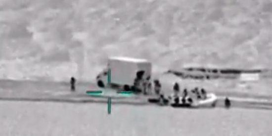 Guardia Civil: espectacular caza y captura de un furgón con dos toneladas de hachís