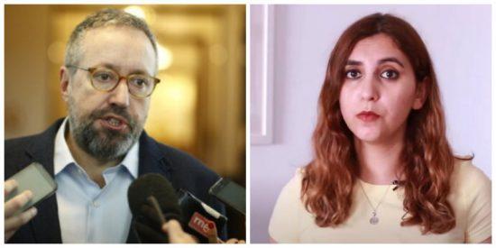 Dina Bousselham intenta amordazar a Girauta y el ex de Ciudadanos responde con un dato oscuro de la exasesora de Iglesias