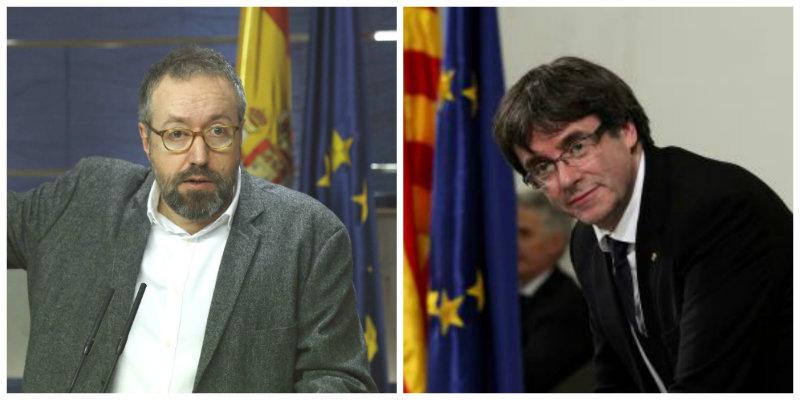 """Girauta a Puigdemont: """"Señor mentecato, España y usted no son entes comparables"""""""