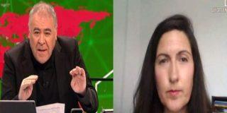 """Ferreras pide a la científica Legido-Quigley que valore de 1 a 10 el peligro del brote de coronavirus en Lérida y ella contesta """"10"""""""