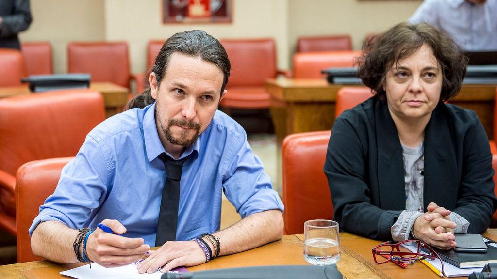 Una diputada de Podemos saca su 'furia feminista' y critica el paternalismo machista de Iglesias con Dina Bousselham