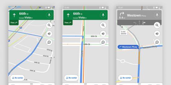 Google Maps muestra los semáforos en su versión Android