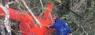 Sobrevive tras estrellarse su helicóptero y pide ayuda a los vecinos para poner a salvo 300 kilos de cocaína