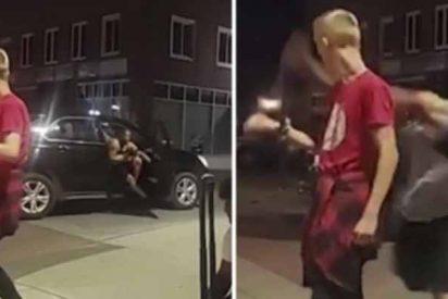 Identifican al hombre negro que le dio un puñetazo a un niño blanco de 12 años en EEUU