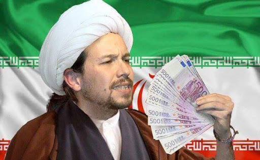 La dictadura iraní inyectó más de 9 millones de euros en la televisión en la que predicaba el 'ayatolá' Pablo Iglesias