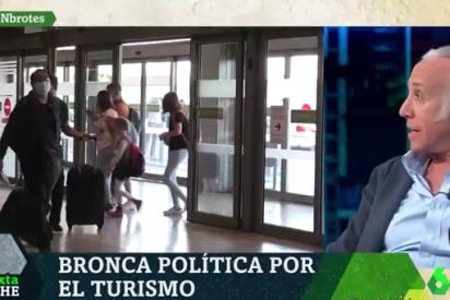 Inda destapa el coladero en el que Sánchez ha convertido Barajas para contagiados por coronavirus