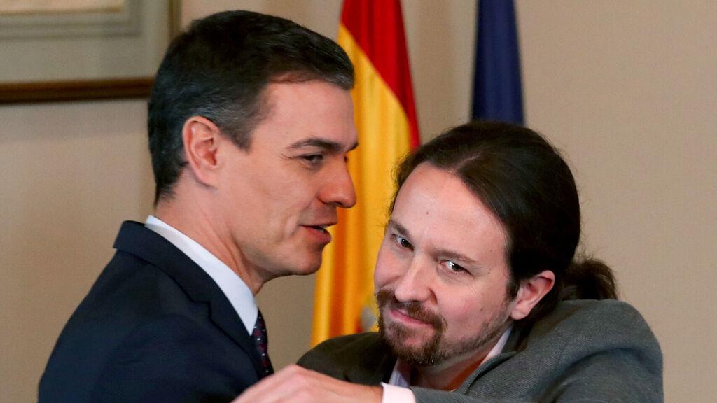 El dinero sucio de Podemos: Sánchez respalda que Iglesias huya como un conejo y no dé la cara en el Congreso