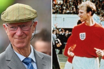 Muere 'Jirafa' Jack Charlton, ganador con Inglaterra del Mundial de Fútbol 1966