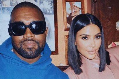 Kanye West elimina un tweet en el que aseguraba querer divorciarse de Kim Kardashian y ella responde con un concluyente mensaje