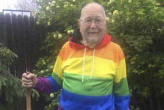 """Un anciano de 90 años se delata y sale del armario por error: """"Desearía no haber dejado a Phillip"""""""