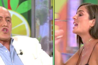 """Anabel Pantoja regresa a 'Sálvame' y el acoso es más bestia que nunca: """"¡Paleta, malcriada!"""""""