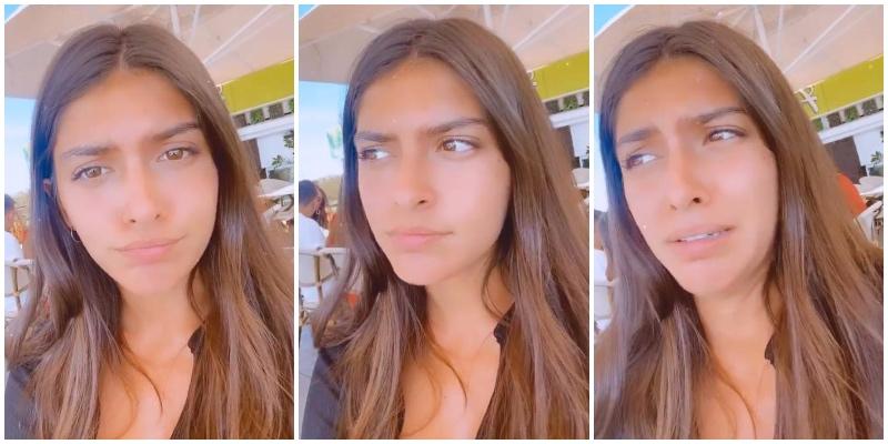 Un repentino disgusto azota a Lucía Rivera en su último viaje de verano