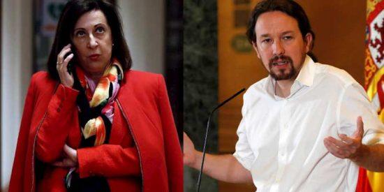 """Margarita Robles, la única ministra de Sánchez que ha puesto en su sitio a Iglesias: """"Los insultos no son justificables"""""""
