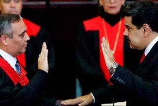 EEUU sanciona a Maikel Moreno, presidente del Tribunal Supremo chavista y ofrece 5 millones de dólares por su captura