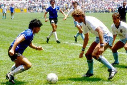 Plantean celebrar un Argentina-Inglaterra en homenaje a Diego Maradona