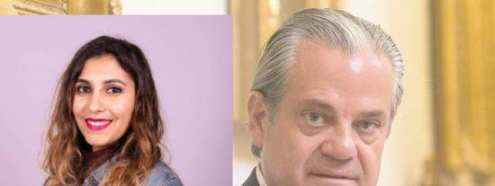 """Marcos de Quinto a Dina Bousselham: """"¿trabajas para los servicios secretos de la monarquía marroquí?"""""""