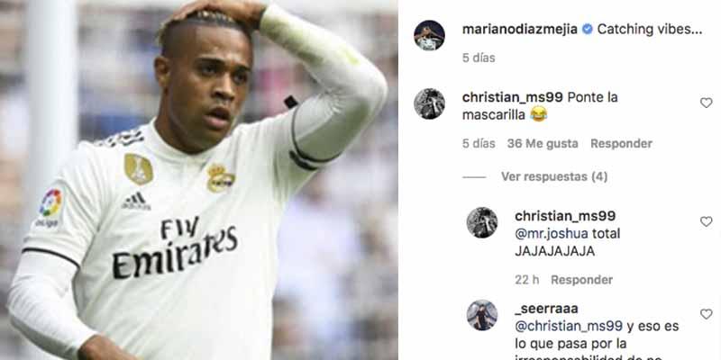 """Usuarios de Instagram 'acribillan' a Mariano por su torpeza: """"Irresponsable, sin mascarilla, subnormal"""""""