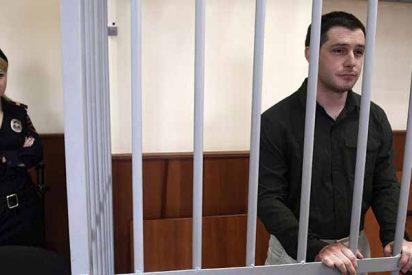 Rusia: nueve años de prisión para un exmarine estadounidense por golpear a dos policías en un bar de Moscú