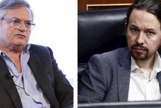 """El intelectual Moisés Naím sobre Pablo Iglesias: """"Ha estado cerca de los regímenes autoritarios y tiene acceso a los secretos de Inteligencia"""""""