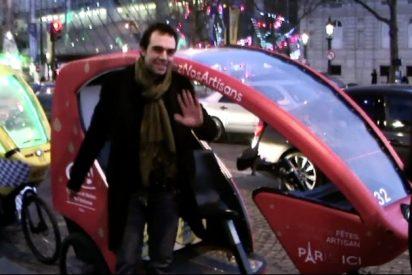"""París: ¡Recorre la Ciudad Luz en """"Taxi-bikes"""" y a lo loco!"""