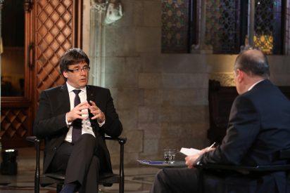 Las redes crujen a TV3 por anunciar una entrevista a bombo y platillo al prófugo Carles Puigdemont