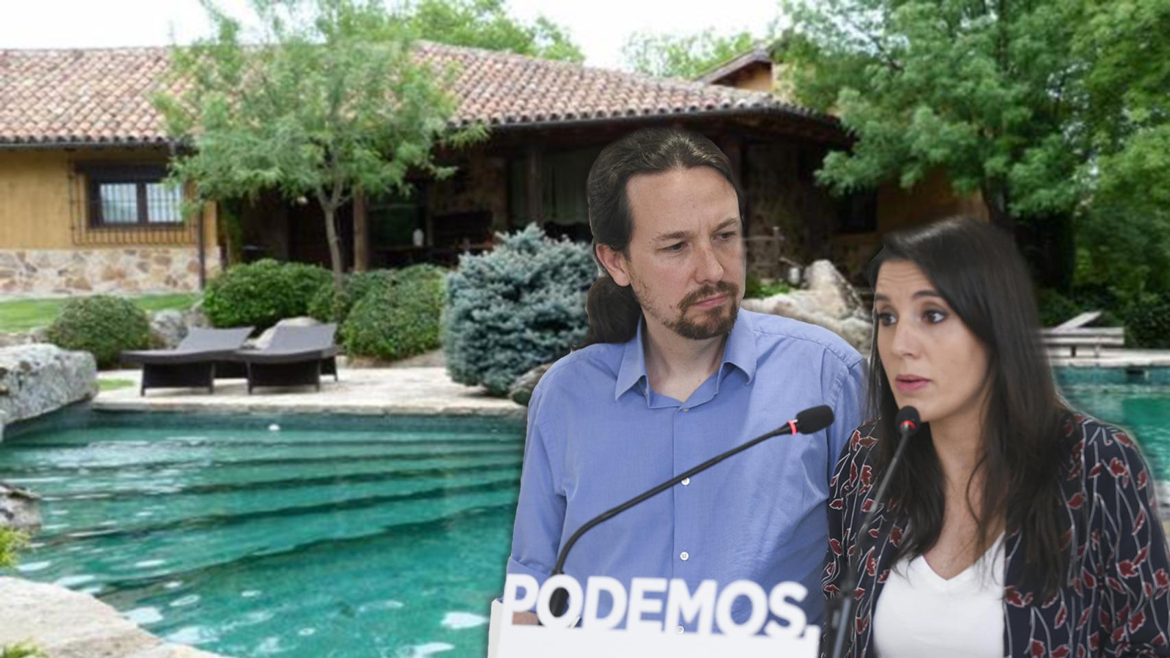 Un Iglesias empachado de 'jarabe democrático' usa al alcalde de Galapagar para frenar las protestas en su chalet