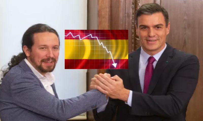 """FMI: """"La España de Sánchez e Iglesias sufrirá la peor recesión a nivel mundial"""""""