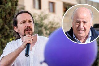 Chiste: el de las donaciones de Amancio Ortega a Podemos y las camisetas de Zara tras el batacazo de Pablo Iglesias