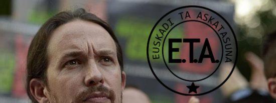 Pablo Iglesias siempre ha tenido mucha simpatía hacia los facinerosos de ETA