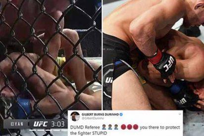 """Petr Yan (UFC) casi mata a su rival por la tardía intervención del árbitro: """"Detengan la maldita pelea"""""""