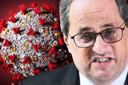 Francia recomienda no viajar a Cataluña ante la ineptitud de la Generalitat frente el coronavirus