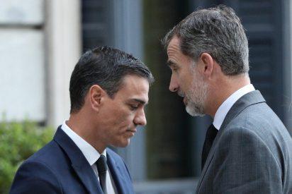Brutal bronca entre el Rey Felipe y Pedro Sánchez que termina en una escandalosa denuncia de Casa Real