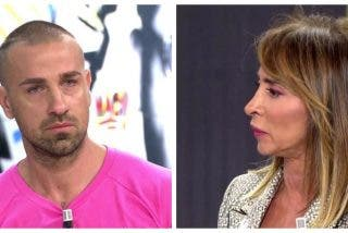 """María Patiño abandona 'Sálvame' por culpa de Rafa Mora: """"¡Panoli! ¡No eres nadie!"""""""