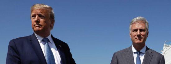 Contagiado con COVID-19 el asesor de Seguridad Nacional de Donald Trump