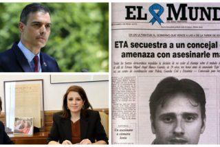 Pedro Sánchez se cubre de... miseria: arremete contra ETA por el asesinato de Miguel Ángel Blanco, pero no hace ascos a pactar con Bildu