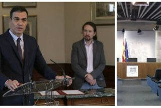 Sánchez agranda su ideario liberticida al suspender la rueda de prensa posterior al Consejo de Ministros