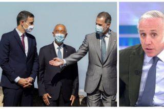 """Inda, sobre la última pifia protocolaria de Sánchez: """"Es un desahogado, se cree el jefe del Estado bis"""""""