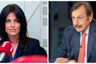 """Cristina Seguí rememora la enganchada que tuvo con Antonio Papell: """"Te volviste loco y me insultaste en Telemadrid"""""""