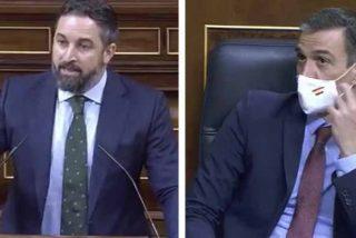 """Topetazo al narcisismo: Abascal """"fustiga"""" a Sánchez al explicar las tres razones de su moción de censura"""