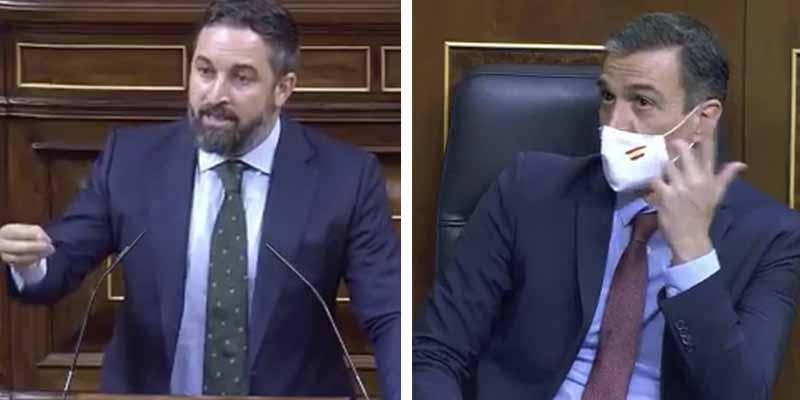 """Abascal advierte al """"tirano"""" Sánchez: """"Si decreta el estado de alarma saldremos en caravana contra esta mafia"""""""