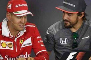"""Vettel aplaude el regreso de Alonso a la F1: """"Es un superhombre, puede volver con 59 años"""""""